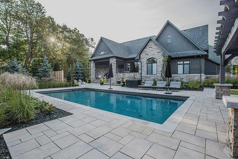 landscape design by home improvement company serving brampton and toronto
